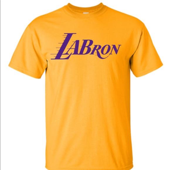 60f9e529b2f LeBron James 23 LABron LA Lakers T Shirt Tee